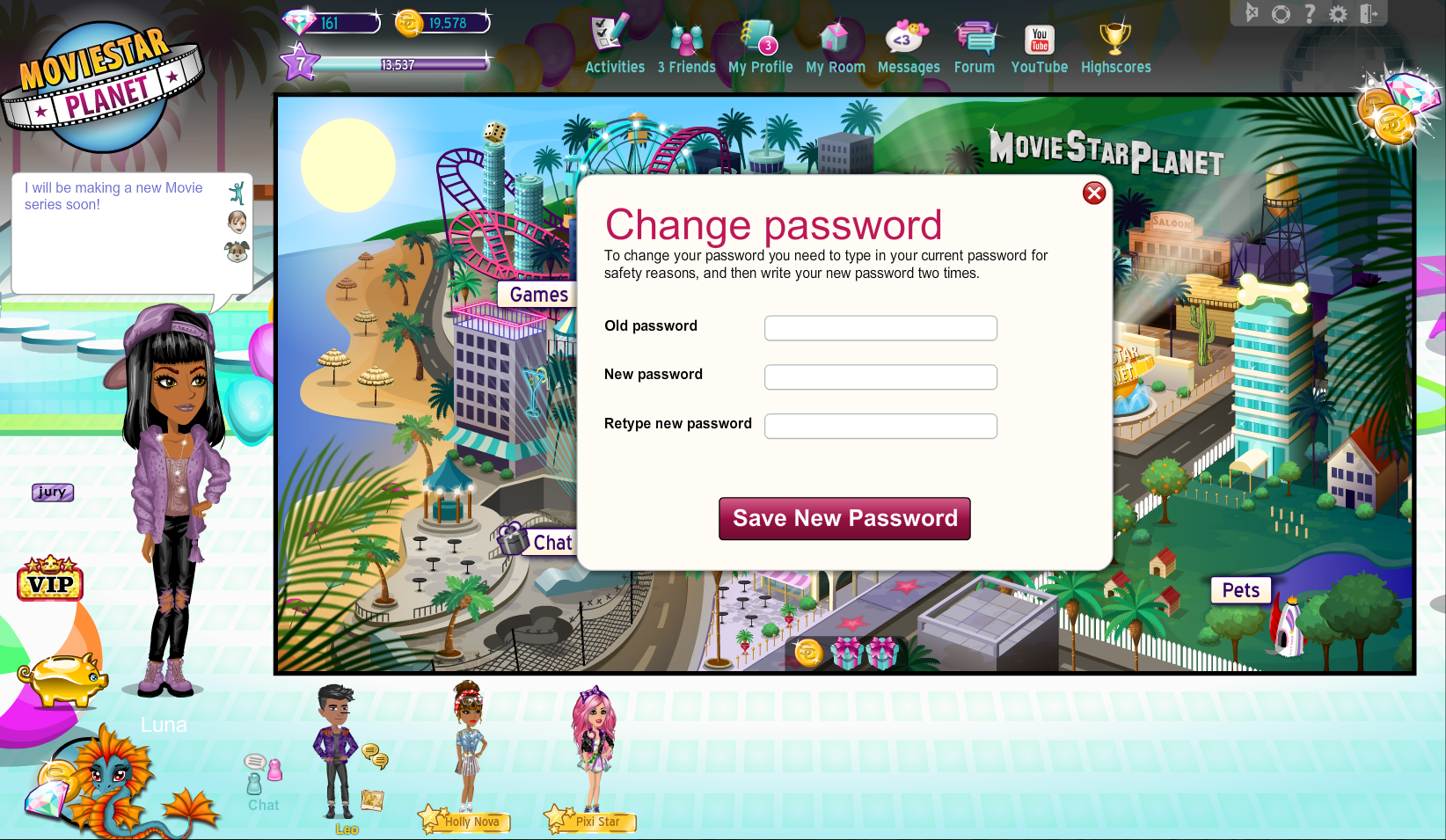 how to change your roblax password 2018