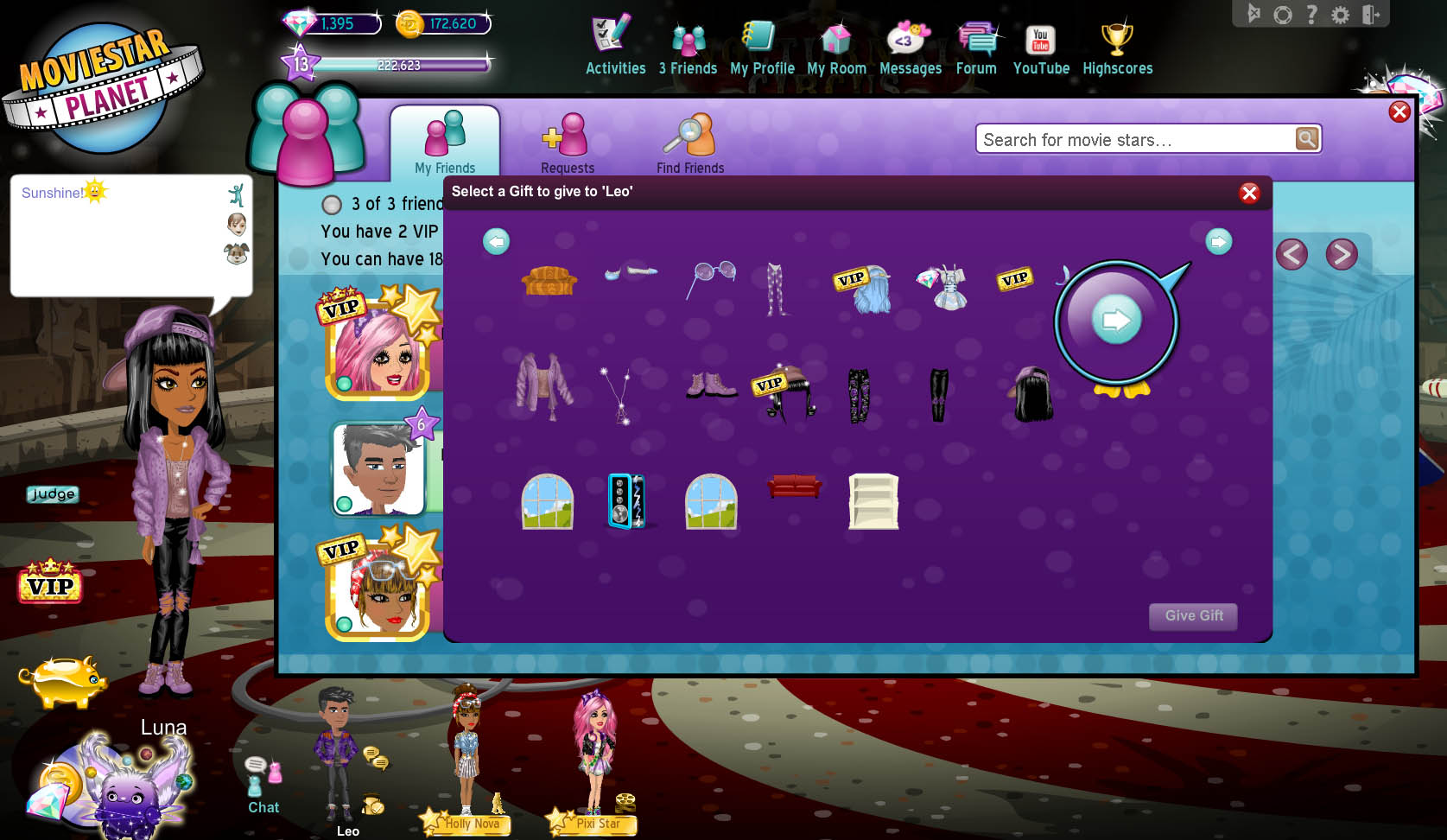 How Do I Give Vip To Other Movie Stars Moviestarplanet